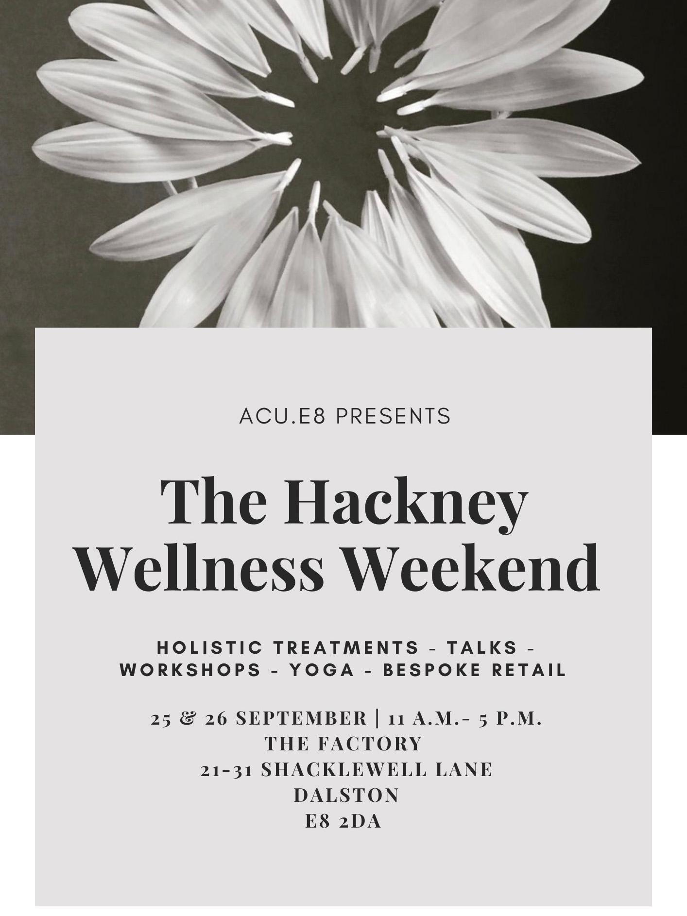Hackney Wellness Weekend